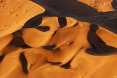 Aerial View of the Namib Desert Royalty Free Stock Photography
