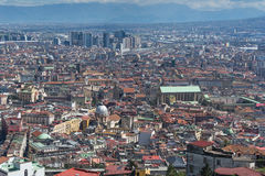 Aerial view of Naples Stock Photos