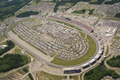 Aerial View NASCAR Lifelock 400 Stock Photography