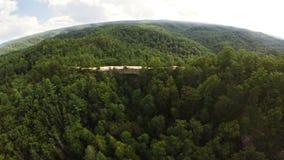 Natural Bridge State Park, Kentucky stock video