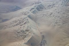 Aerial View of the Nazca Desert. Not far from Nazca, Peru stock image