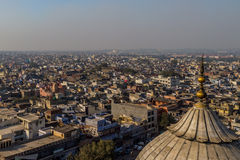 Aerial view of New Delhi, India. Aerial view of rooftops in New Delhi, India Stock Photography