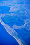 Aerial view of New Jersey Stock Image
