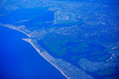 Aerial view of New Jersey Stock Photo