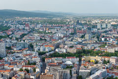 Aerial view of New Town, Bratislava, Slovakia Stock Images