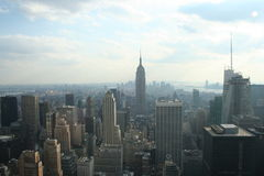 Aerial view of New York Royalty Free Stock Photography