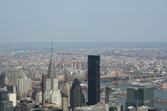 Aerial view of New York Royalty Free Stock Photos