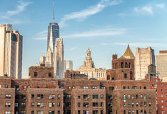 Aerial view of New York Royalty Free Stock Image