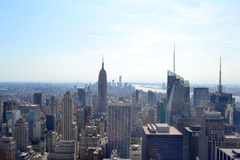 Aerial View of New York City, New York Stock Photography