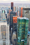Aerial view of the New York City. Royalty Free Stock Photography