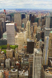 Aerial view of New York City, USA Royalty Free Stock Photography