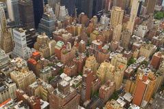 Aerial view of New York City, USA Stock Photos