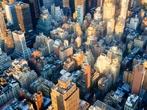Aerial view of New York Royalty Free Stock Photo