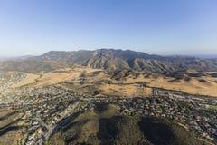 Aerial View Newbury Park California Royalty Free Stock Photo