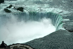 Aerial view on Niagra Falls royalty free stock photos
