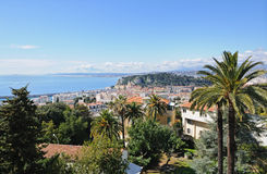 Aerial view of Nice, France Royalty Free Stock Photo