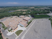 Aerial View of Niwot High School Stock Photos