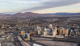 Aerial view of North Las  Vegas Royalty Free Stock Photography