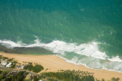 Aerial view of Northeast Puerto Rico Stock Photos