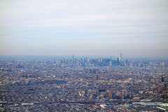 Aerial view of NY. Aerial view of the city of New York, USA Royalty Free Stock Photography