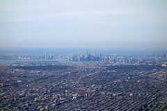 Aerial view of NY. Aerial view of the city of New York, USA Royalty Free Stock Photos