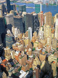 Aerial view of NYC. Stock Photography