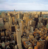Aerial view of NYC. Royalty Free Stock Photos