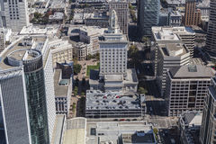 Aerial View of Oakland City Hall in California Stock Images