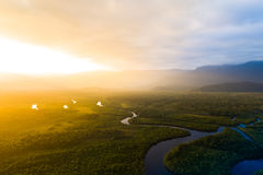 Free Aerial View Of A Rainforest In Brazil Stock Photography - 98933702