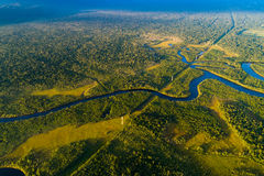 Free Aerial View Of A Rainforest In Brazil Royalty Free Stock Photography - 99049267