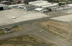 Free Aerial View Of Addis Ababa Bole International Airport Royalty Free Stock Images - 133691109