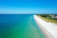 Free Aerial View Of Anna Maria Island, Florida Royalty Free Stock Photos - 190816848
