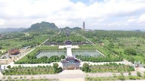 Free Aerial View Of Bai Dinh Pagoda In Vietnam,  Ninh Binh Province Royalty Free Stock Photo - 160878425