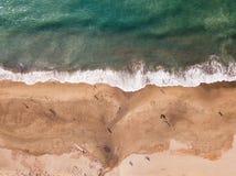 Aerial View Of Baker Beach Next To Golden Gate Bridge Royalty Free Stock Photo