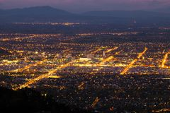 Free Aerial View Of Christchurch City, New Zealand Royalty Free Stock Photos - 126510408