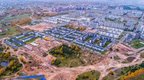 Free Aerial View Of Construction Area, Lithuania Royalty Free Stock Photo - 103734825