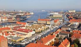 Free Aerial View Of Copenhagen Stock Photos - 27296223