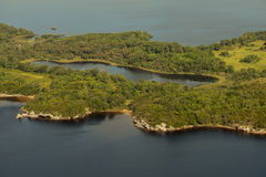 Free Aerial View Of Doo Lough Royalty Free Stock Images - 59175539