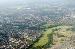 Free Aerial View Of East Bedfont And North Feltham, West London Royalty Free Stock Photos - 136508358
