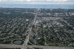 Free Aerial View Of Fort Lauderdale, Florida. Stock Photos - 78566113