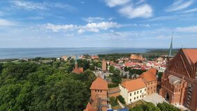Free Aerial View Of Frombork, Poland Stock Photos - 196771883