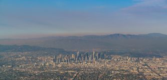 Free Aerial View Of Great Los Angeles Area Royalty Free Stock Photos - 132291518