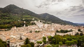 Free Aerial View Of Gubbio Stock Photography - 159189732