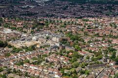 Free Aerial View Of Hounslow West, London Royalty Free Stock Image - 168726796