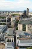 Aerial View Of London From St. Paul S Cathedral Royalty Free Stock Photography