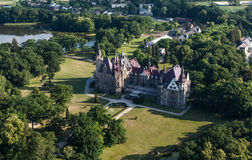 Free Aerial View Of Moszna Castle Royalty Free Stock Images - 62841829