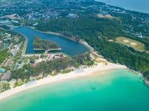 Free Aerial View Of Nai Harn Beach Phuket Stock Image - 134643791