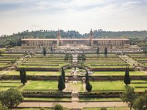 Free Aerial View Of Nelson Mandela Garden And Union Buildings, Pretoria, South Africa Stock Photography - 159541752