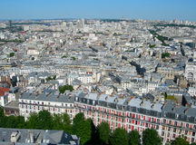 Aerial View Of Paris, France Stock Image