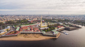 Free Aerial View Of Peter And Paul Fortress Royalty Free Stock Photography - 81489507
